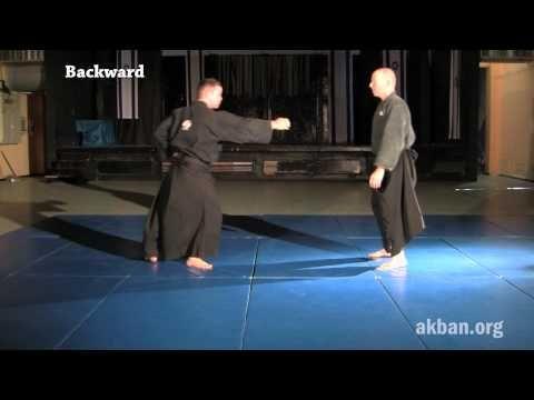 How to do 10 Tai sabaki directions, basic - Ninjutsu technique - YouTube