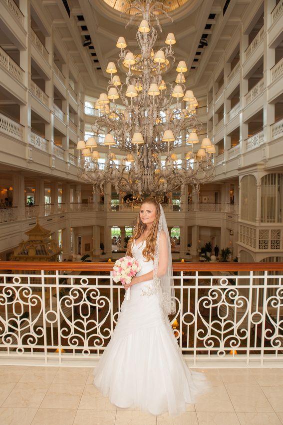 Grand Floridian Walt Disney World Wedding Pavilion Beautiful Bride Inside The Hotel Wor