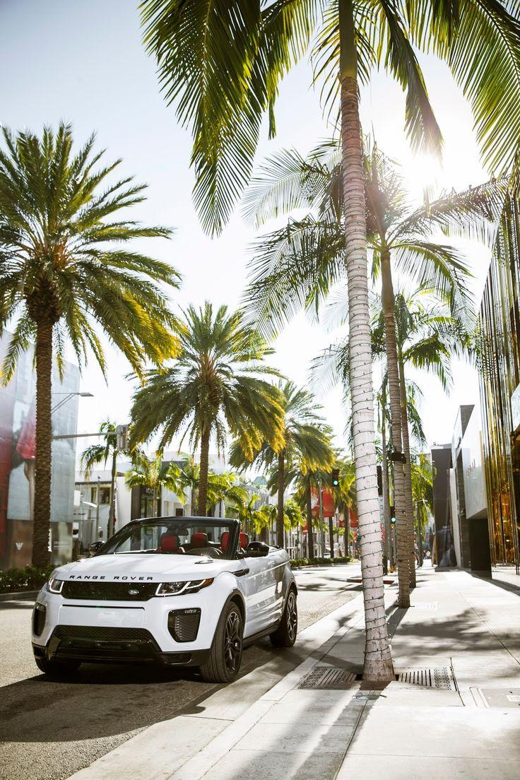 Range Rover Evoque Convertible & Bond Girl Naomie Harris | TheGentlemanRacer.com