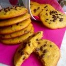 Biscotti morbidi di zucca e gocce di cioccolato ricetta