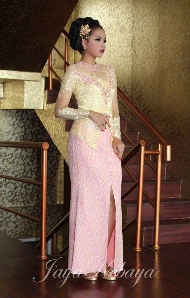 Jaya Kebaya: Sale Kebaya Modern|Wedding Dress Kebaya|Fashion Kebaya|Kebaya Modern Indonesia: Kebaya Wedding Dress Pink 2015