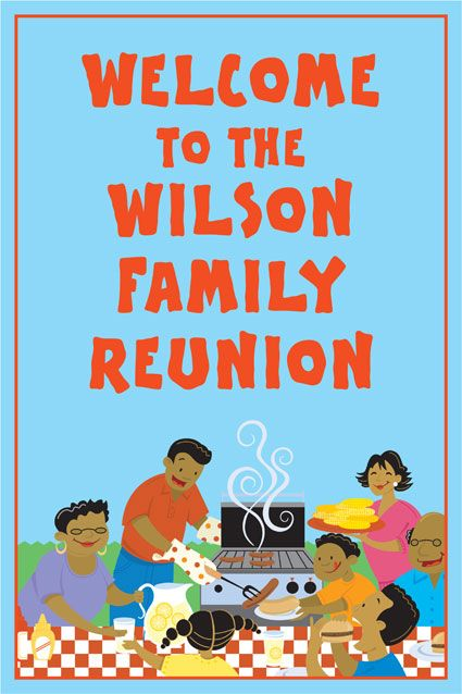 how to start a family reunion