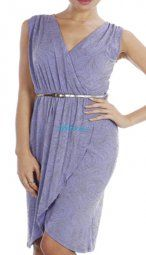 Lilac Evening Dress Size 18/20 $59.90