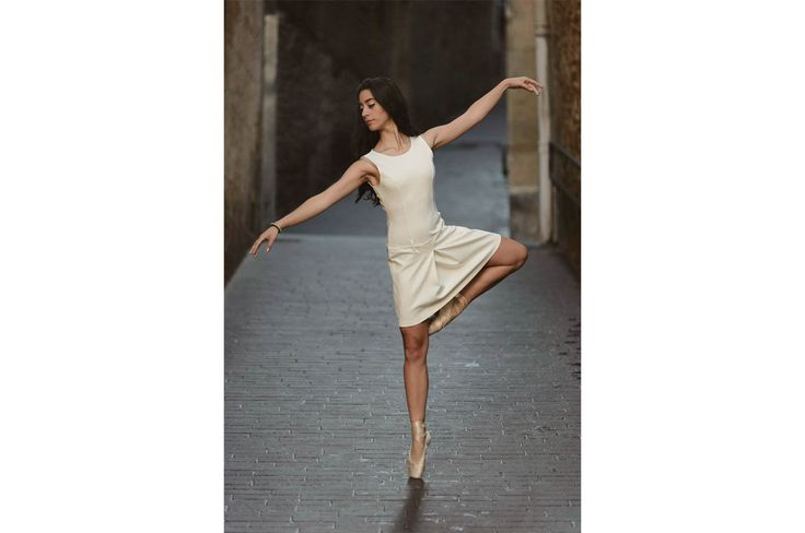 Ballet en la calle Dancer: Claudia Arrue #dance #danza #ballerina #bailarina #street #pointe #puntas