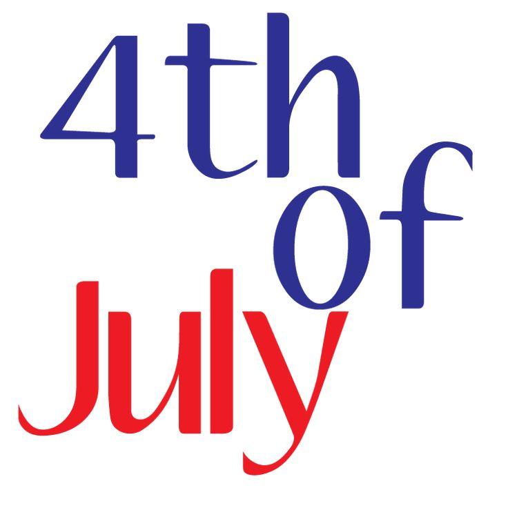 calendar 4th of july 2013