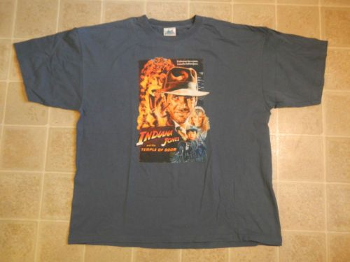 Indiana jones and temple of doom t shirt 3xl disneyland for 3xl tall graphic t shirts