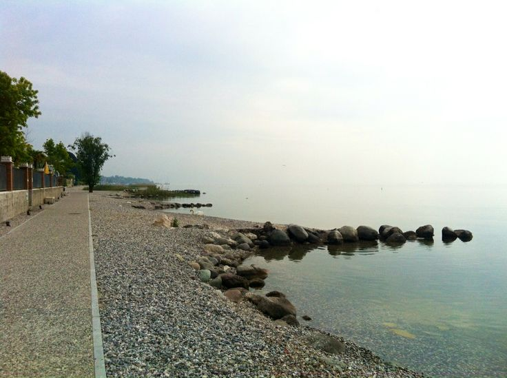 View from Gardazzurro Residence, have an amazing walk on a long promenade !!!