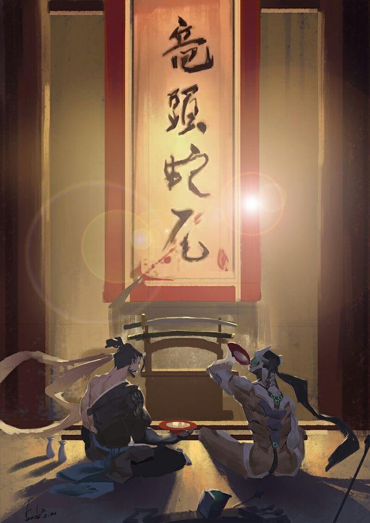 Hanzo Shimada Genji Shimada
