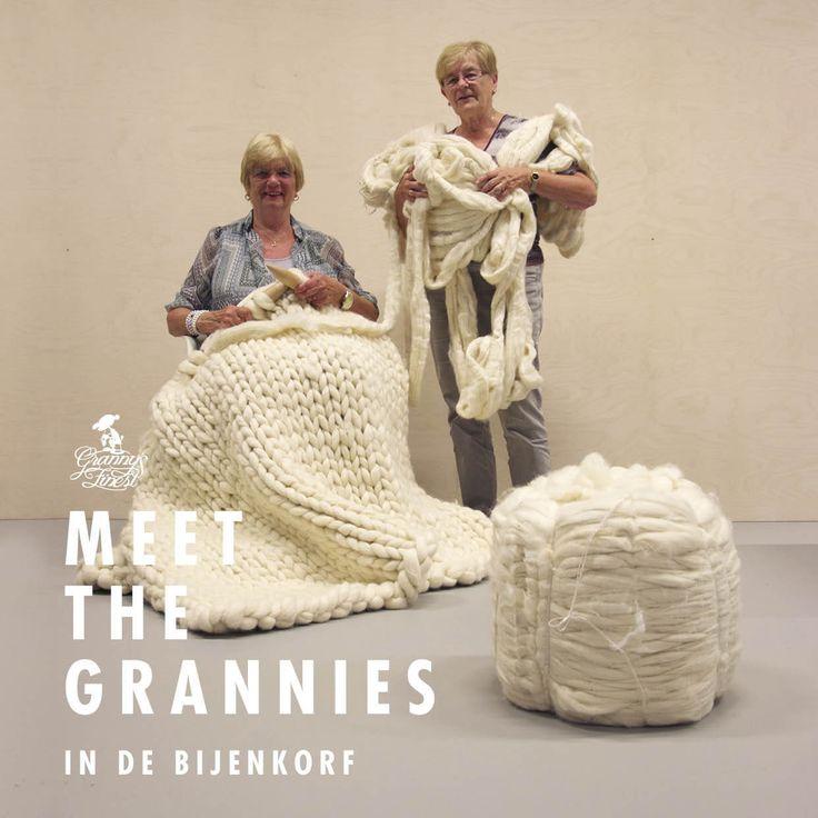 Granny's Finest in de Bijenkorf