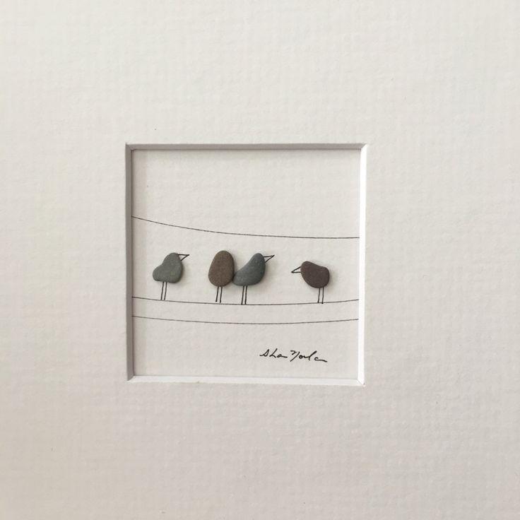 Piedra original Art 5 por 5 Mini sin enmarcar cuadro del