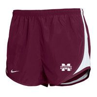 Mississippi State Bulldogs Nike Tempo Short