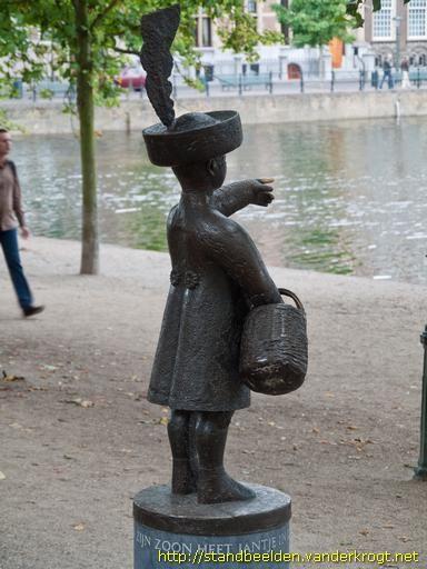 Jantje, zoon van de graaf van Holland, fictief persoon, voorkomend in een bekend kinderliedje: In Den Haag daar woont een Graaf en zijn zoon heet Jantje  Als je vraagt 'Waar woont je Pa?'  Dan wijst hij met zijn Handje  Met zijn vingertje en zijn duim  Op zijn hoed draagt hij een Pluim  Aan zijn arm een Mandje......  Dag mijn lieve Jantje