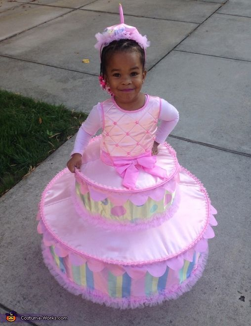 Birthday Cake with Candle Costume - Halloween Costume Contest via @costume_works