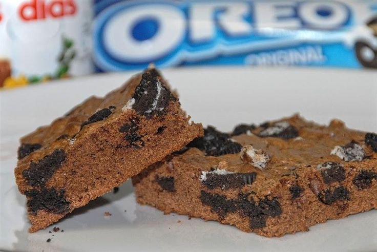 IRRESISTIBLE: brownie de Nutella y Oreo