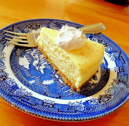 One Perfect Bite: Countdown to Christmas - Eggnog Cheesecake