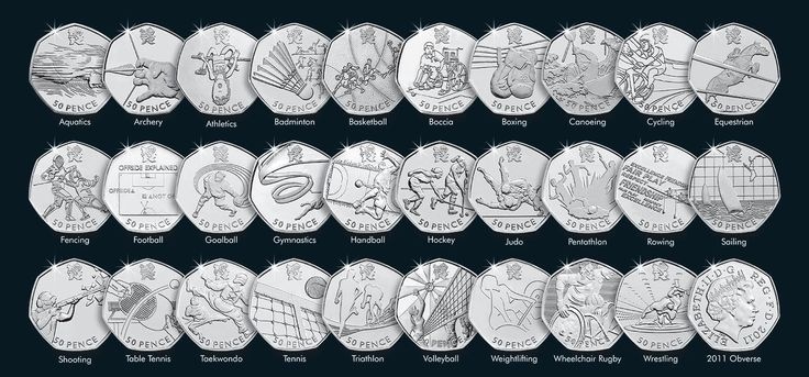 2011 olympic 50p #pence coins incl rare judo, #triathlon, tennis etc - #cheap !!!,  View more on the LINK: 	http://www.zeppy.io/product/gb/2/371860033585/
