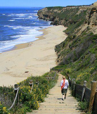 Cowell Ranch Beach, Half Moon Bay, California