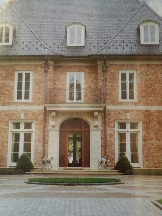 Front entrance terrace