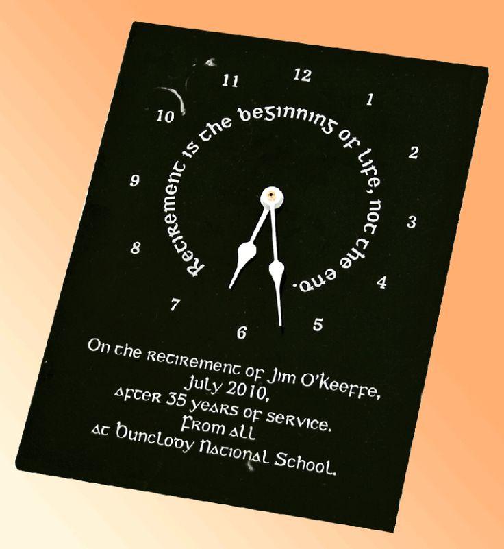 retirement-clock-kilkenny-marble-1 10 Retirement Gift Ideas for Women