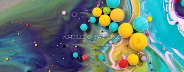 """Memories of Paintings"" is an experimental dreamlike video rocking us smoothly through circular moves. The visual compositions have been created out of paint, oil, milk and soap liquid. - - - - - - - - - - - - - - - - - - - - - - - - - - - - - - - - - - - - - - - - - - - - - - - - - - - - - - - - - - -  Music by the Sound designer and beatmaker ""Bronix"" http://www.bronix.fr/ https://www.facebook.com/BronixWild ---------------------------------------------------------- Canon 24-105L + ..."