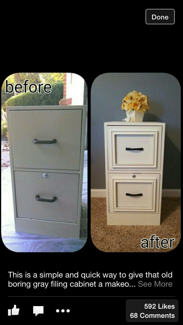 This photo gave me an awesome idea.....we can use picture frames to add character and detail to our furniture pieces. They could be nailed or glued onto drawer facings, cabinet panes or even cut into pieces and placed around any of the pieces edges. There are so many different styles, sizes, and colors to choose from and can easily be painted to match any variety of colors. Can't wait to give it a try on one of my projects.