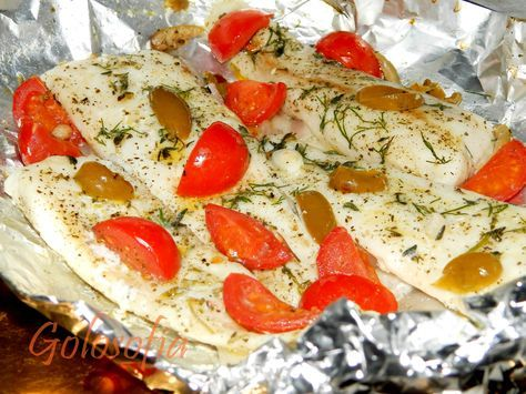 Filetti di merluzzo al cartoccio, ricetta al forno light e gustosa!
