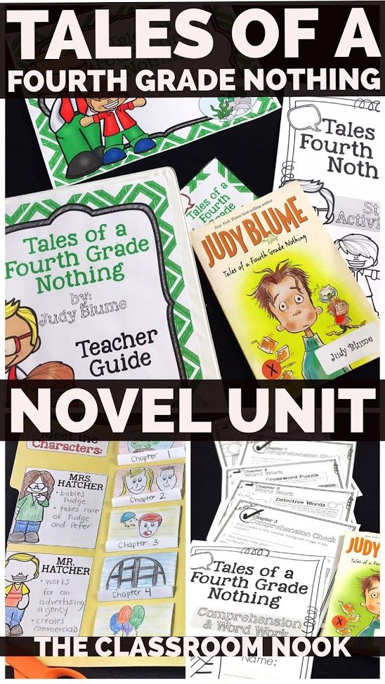 Your complete novel for teaching Tales of a Fourth Grade Nothing is now available on TpT.  Teacher lesson plans, student activities, bulletin board set, PPT/PDF/PNG image anchor slides - it's all there!