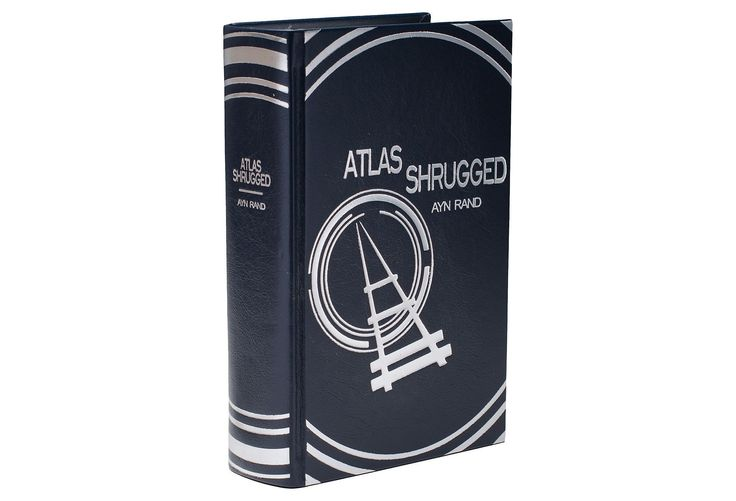 Leatherbound Ayn Rand Atlas Shrugged | Favorite Things | One Kings Lane