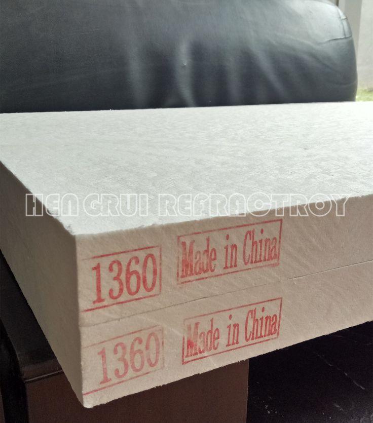 Refractory ceramic fiber board for furnae linears