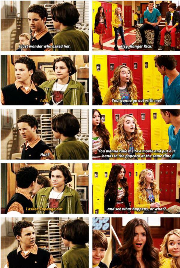 #BoyMeetsWorld #GirlMeetsWorld.... I was thinking about that the whole time I watch this