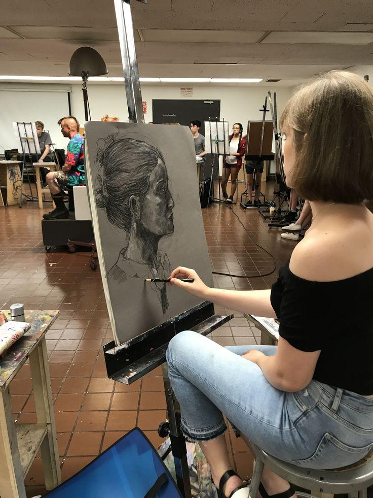 In fine arts portfolio part of the 11day precollege