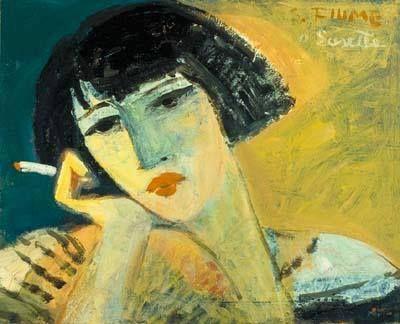 Salvatore Fiume (italian, 1915-1997) | A Susette, 1956