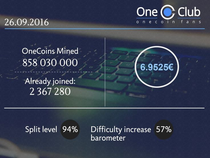 #weekly #onecoin #onelife #oneclub