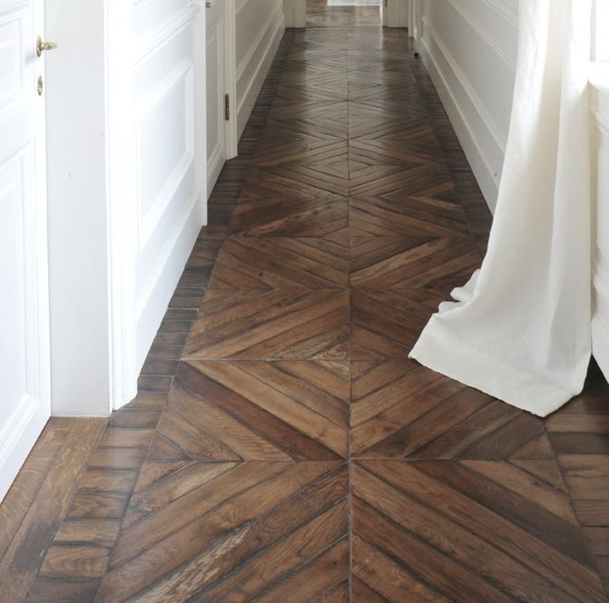 Beautiful hardwood floor.