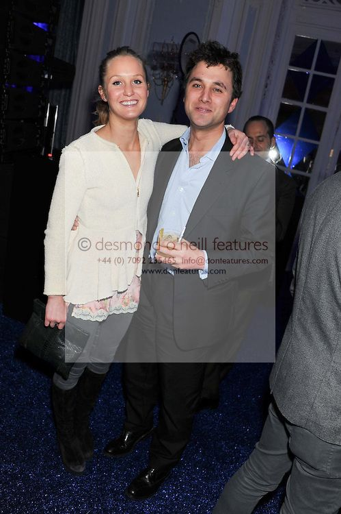 THOMAS VAN STRAUBENZEE and LADY MELISSA PERCY at the Warner Music Group Post Brit Awards Party in Association with Samsung held at The Savoy, London on 20th February 2013.