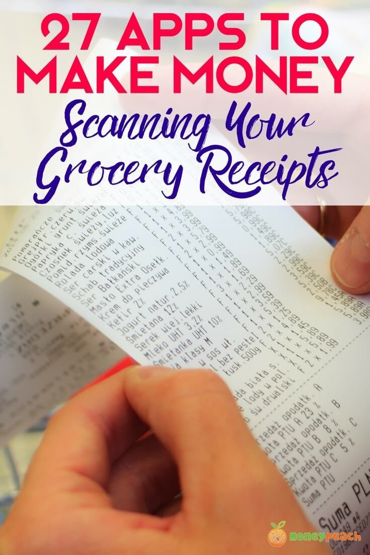 We put together the quick and easy list of the 27 best FREE apps to scan your grocery receipts. I'll show you what it is, how it works, and where to get them. via @https://www.pinterest.com/TheMoneyPeach/