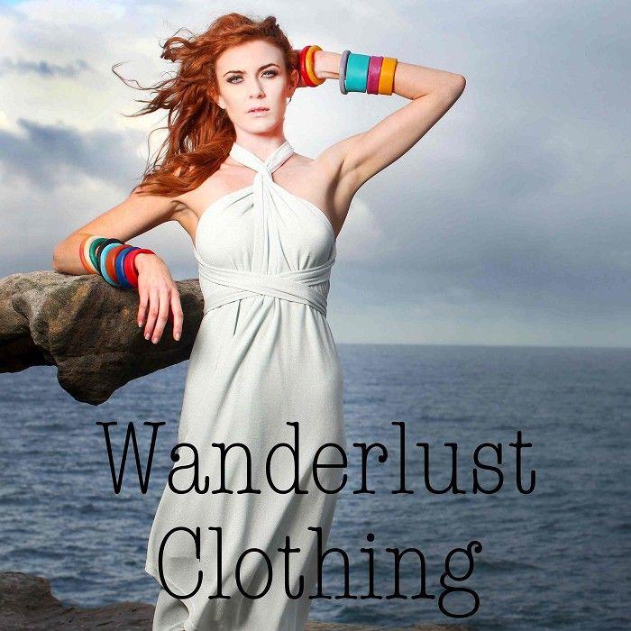 Wanderlust Clothing, designed for travel handmade with love.