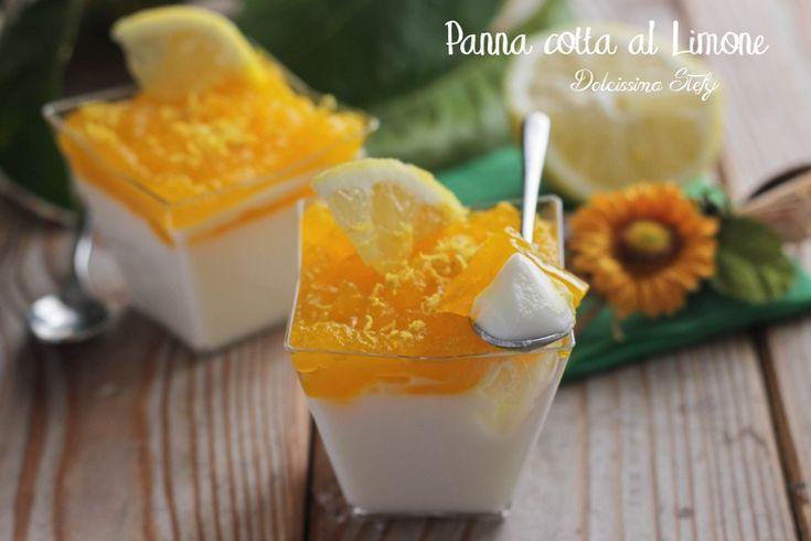 Panna cotta al Limone