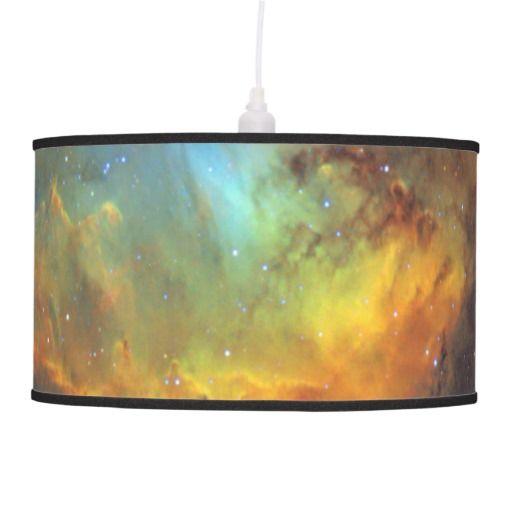 Tulip Nebula hanging lamp