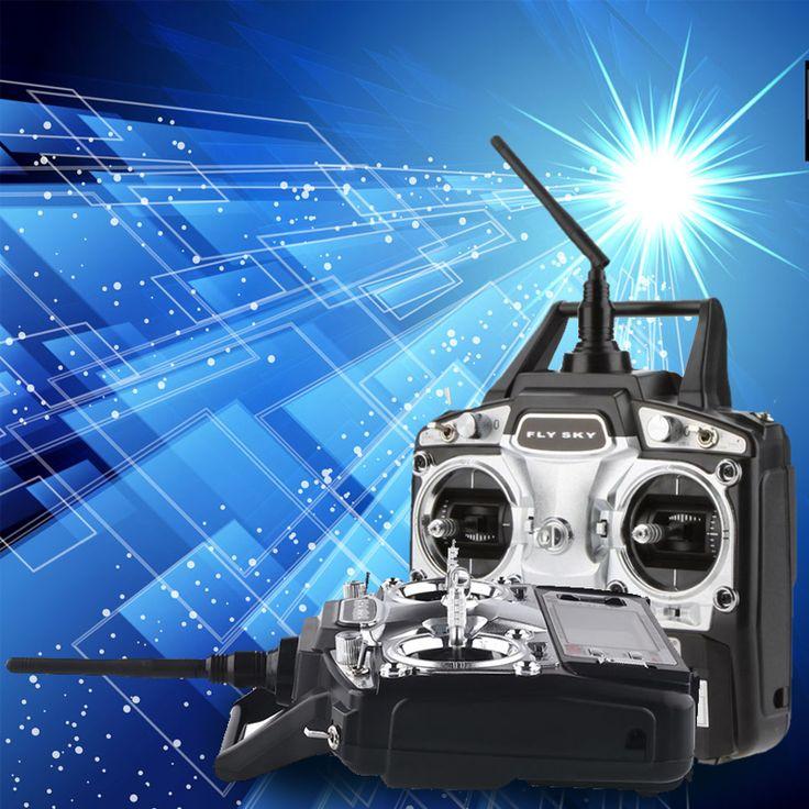 FlySky FS T6 6CH RC Transmitter Controller FS R6B RC Radio Control Drone