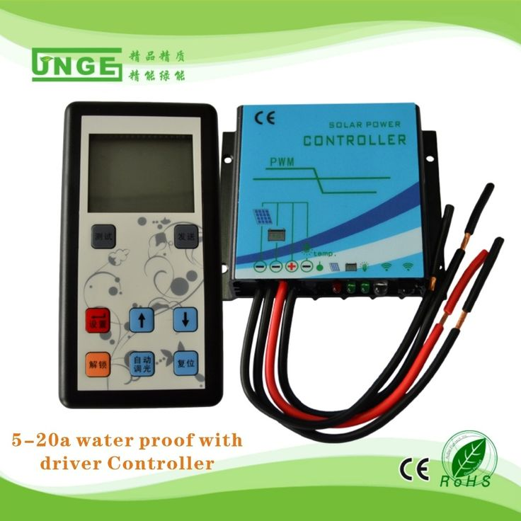 32.80$  Buy now - On sale Booster type Constant current solar charge controller 12v/24v 20A with remote control for LED lights with waterproof  #shopstyle