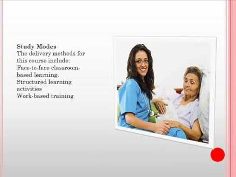 Click here http://goo.gl/cCHvXe Acquire the skills and knowledge to gain stable employment in community and/or residential aged care facilities.