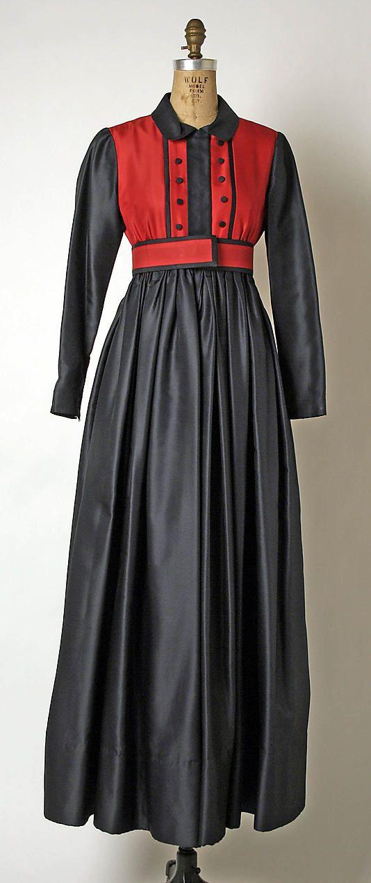 Dress  Geoffrey Beene (American, 1927–2004)  Date: fall/winter 1968–69 Culture: American Medium: silk