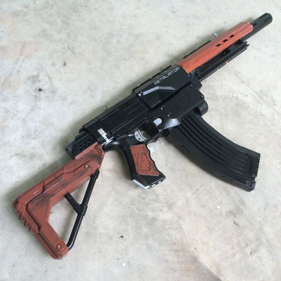 Nerf Retaliator AK Mod by JLCustomsCreations on Etsy