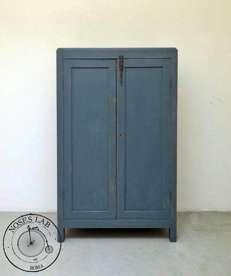 Credenza Antica a doppia Anta, anni '60 #vintage #vintagesideboard #industrial #factorysideboard #sideboard