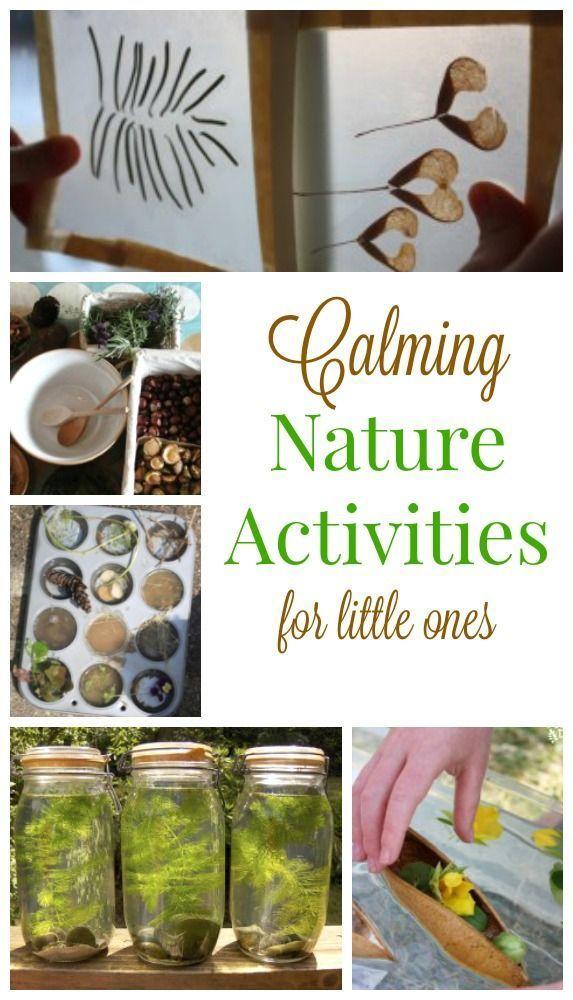 These indoor nature activities are perfect for preschoolers. Fabulous quiet time activities to help kids calm down.