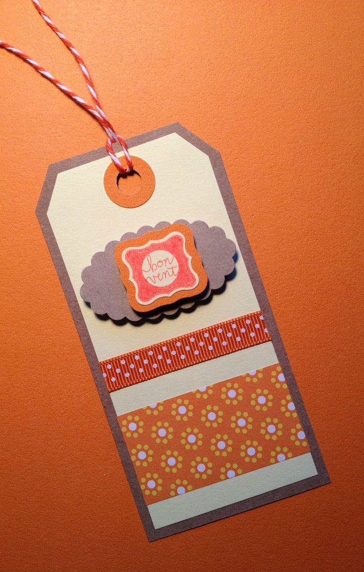 Idea de tarjeta para acompañar regalos.
