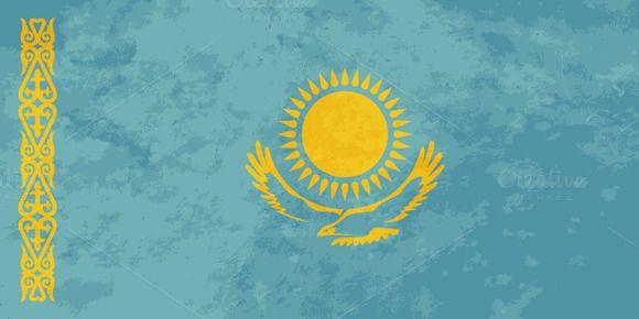 True proportions Kazakhstan flag @creativework247