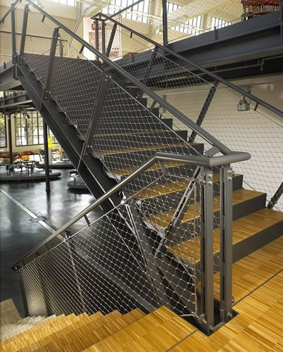 Best Wire Mesh Balustrade Suspended Walkways Pinterest Wire Mesh 640 x 480