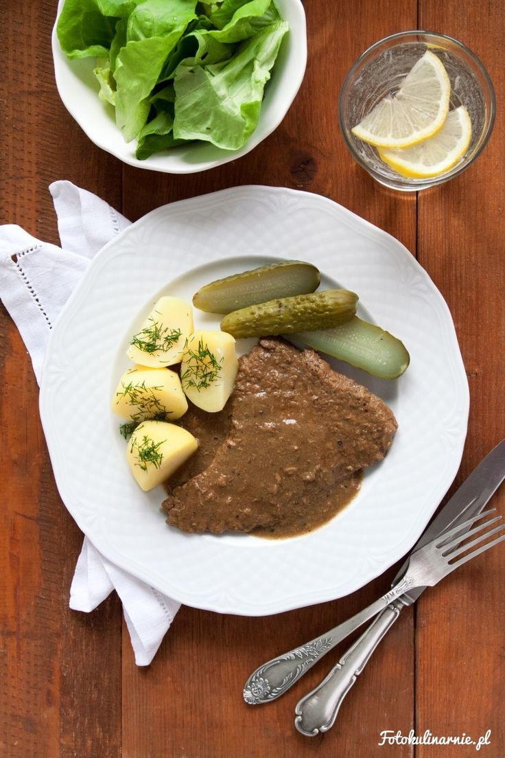 Traditional Polish Braised Beef in Gravy Sauce.